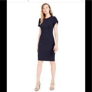 Black Calvin Klein midi dress